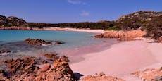 Berühmter rosa Strand wird jetzt mit Video überwacht
