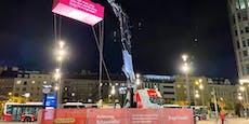 Wird in Wien nun Gemeindebau aus Plastik-Steinen gebaut?