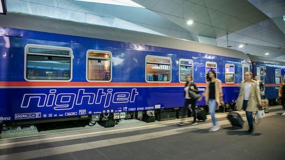 In den Nighjet-Zügen der ÖBB wird jetzt auch gegurgelt.