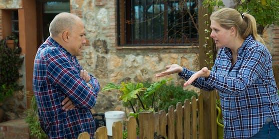 Streits zwischen Nachbarn haben während Corona zugenommen.