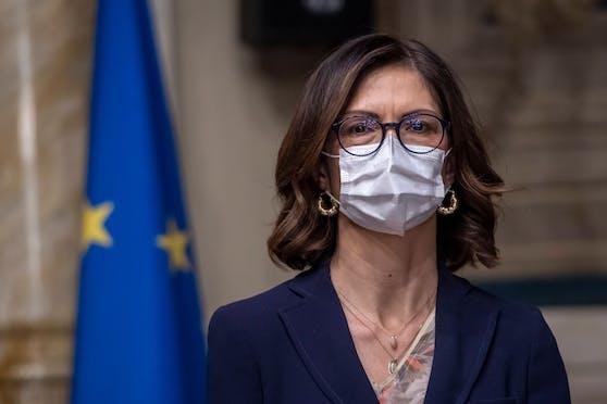 Italiens Regionenministerin Maria Stella Gelmini nimmt die türkisgrüne Bundesregierung ins Visier.