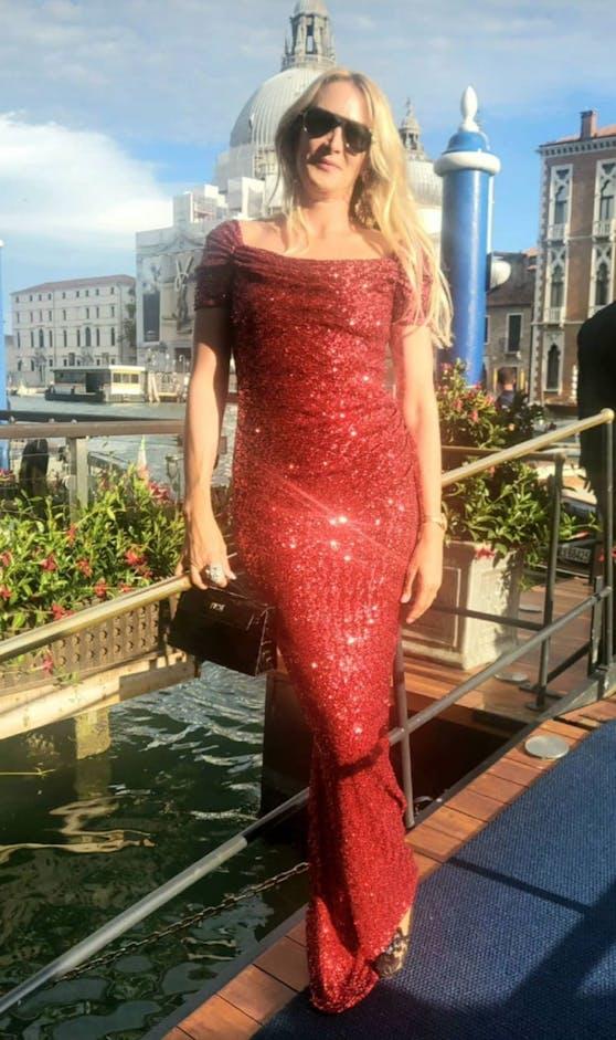 """Heute""-Herausgeberin Dr. Eva Dichand in Venedig."