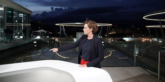 SPÖ-Chefin Pamela Rendi-Wagner unmittelbar vor dem ORF-Sommergespräch.