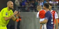 Messi posierte nach Paris-Debüt mit Gegnern für Fotos