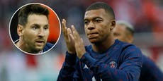 Paris-Hammer: Messi überredet Mbappe zum Bleiben