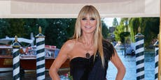 Heidi Klums Venedig-Kleid spaltet die Fans
