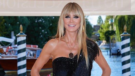 Heidi Klum trug in Venedig ein Hauch von Nichts.