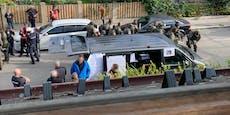 Bomben-Explosion in Wien – Großeinsatz der Polizei