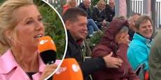 Kiewel sauer auf Fernsehgarten-Fans, weil Handy läutet