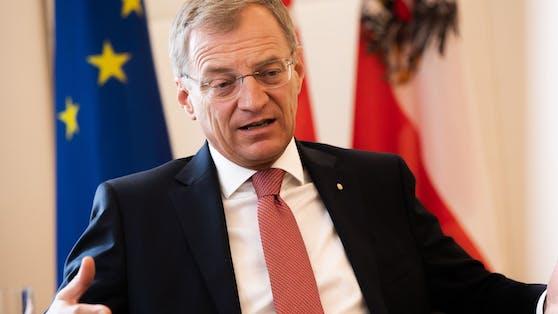 """Thomas Stelzer: """"Will keine Spaltung in unserer Gesellschaft."""""""