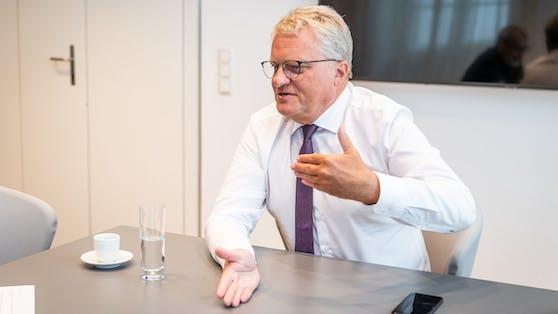 """Der Linzer Bürgermeister Klaus Luger im """"Heute""""-Gespräch."""