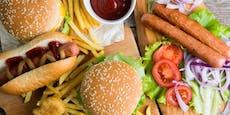 Fast Food – diese Speise verkürzt dein Leben