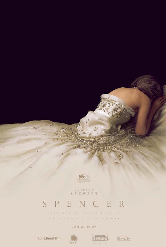 """Eine weinende Diana in einer Couture-Robe von Chanel wählten die Filmemacher für den neuesten Streifen namens """"Spencer""""."""