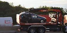 Kind bei Verkehrsunfall bei SCS in Wien getötet