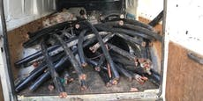 Polizei fasst mehrere Kupferkabel-Gangs in Wien