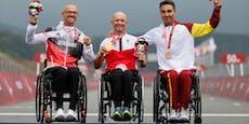 Handbiker bescheren Österreich in Tokio Medaillenregen