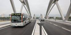 Eisenbahnbrücke: Deshalb ist die Busspur nur einspurig