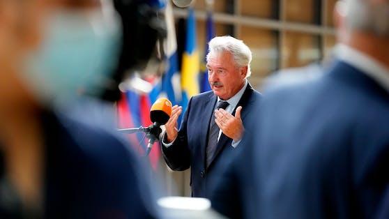 Jean Asselborn, der Außen- und EU-Minister von Luxemburg kritisiert Österreich aufs Schärfste.