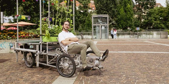 AndréLintschnig liebt Lastenräder und wurde von der Stadt verklagt