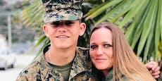 Insta sperrt Profil von Mutter von totem US-Soldaten