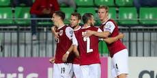 Pflicht erfüllt! ÖFB-Team müht sich zu 2:0 in Moldawien