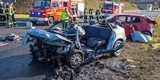 Fahranfängerin (19) nach Todes-Crash in Lebensgefahr