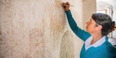 Sensationsfund! Wandzeichnungen im Rathausturm entdeckt