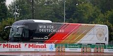 Doch kein Flug: DFB reist 240 Kilometer mit dem Bus an