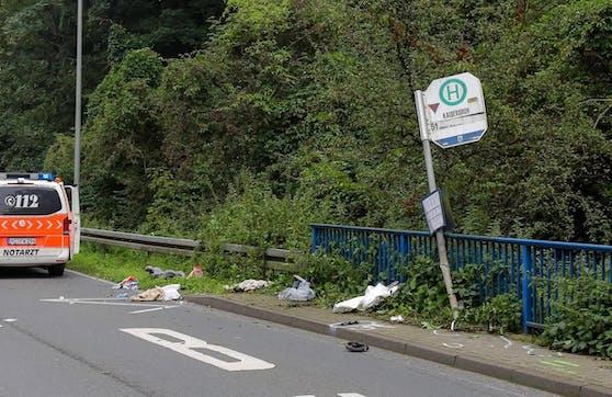 Im nordrhein-westfälischen Würselen ist es zu einem schweren Unfall gekommen.