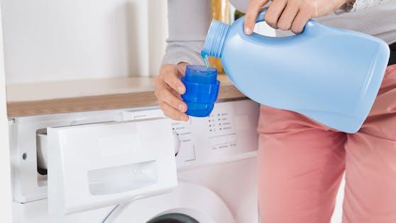 Jedes Fach in der Waschmaschine erfüllt eine eigene Funktion.