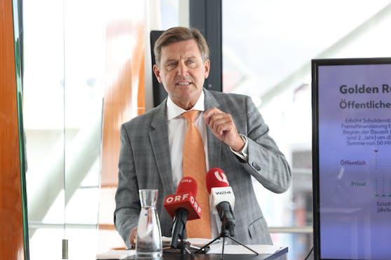 Finanz- und Wirtschaftsstadtrat Peter Hanke (SPÖ) möchte modernere EU-Regeln, um mehr investieren zu können.