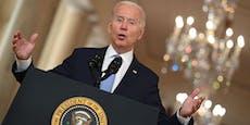 """Biden: """"Es war an der Zeit, diesen Krieg zu beenden"""""""