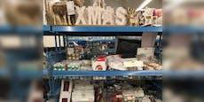 Wiener Supermarkt verkauft schon erste Weihnachtssachen