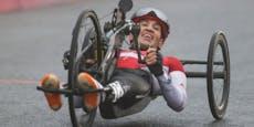 Handbiker holen wieder drei Paralympics-Medaillen