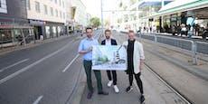 Zankapfel City-Ikea: Wiener Grüne wollen Begegnungszone