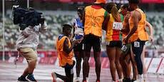 Ring statt Medaille! Rührender Antrag bei Paralympics