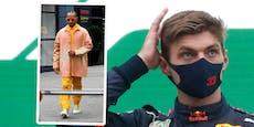 Hamilton im Oranje-Outfit, Max-Fans buhen trotzdem