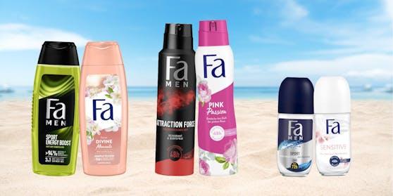 Jetzt teilnehmen und eines von drei Beauty-Paketen von Fa gewinnen!