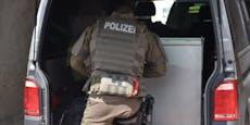 Cobraeinsatz bei Baden - Messermann von Polizei gefasst