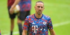 Diese zwei Klubs sind an Ex-Bayern-Star Ribery dran