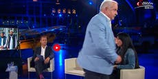 Eklat im Live-TV – Gast bei ServusTV stürmt von Bühne