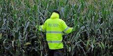 Schlepper flüchtet durch Maisfeld vor Polizei