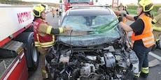 Unfall auf A1 verursachte kilometerlangen Stau