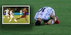 Messi übersteht brutalen Tritt bei Argentinien-Sieg