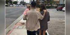 Justin und Hailey Bieber mit Baby gesichtet