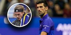 """Ärger nach """"Klo-Trick"""": Jetzt meldet sich Djokovic"""