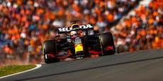 Verstappen rast beim Heim-Grand-Prix zur Pole Position