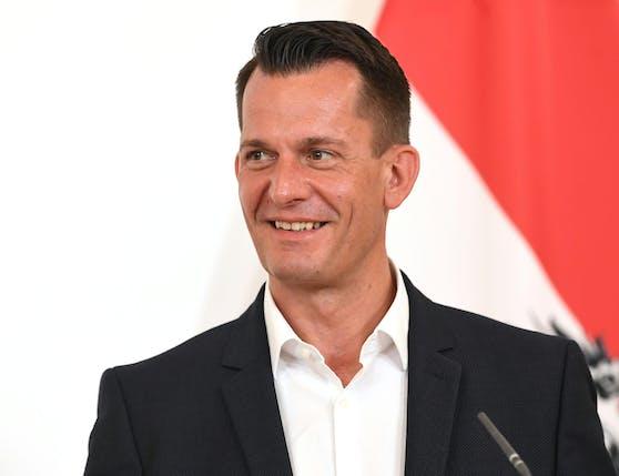 Sozialminister Wolfgang Mückstein
