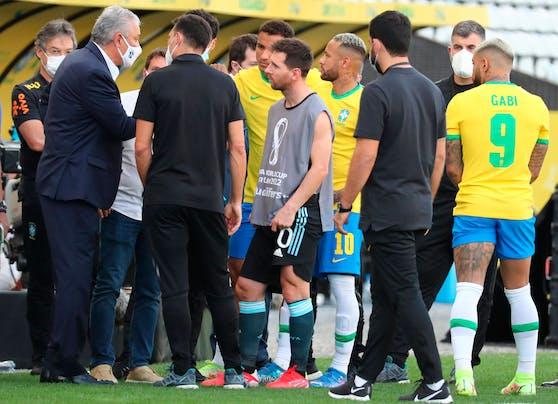 Chaos beim WM-Quali-Hit Brasilien gegen Argentinien