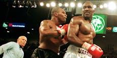 Tyson biss ihm Ohr ab: Holyfield vor Ring-Rückkehr